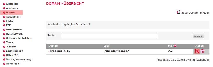 DNS-Werkzeuge - DKIM (bei Versand über unsere Mailserver), Bild 2