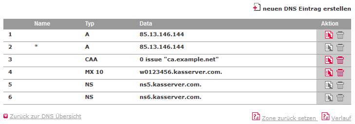 DNS-Werkzeuge - CAA-Record, Bild 4