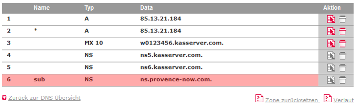 DNS-Werkzeuge - Nameserver ändern, Bild 3