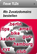 neue Top Level Domains